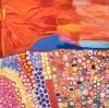 Amy Loogatha & Ethel Thomas, Makarrki, Acrylic on Belgian linen, 196 x 197cm. Image: MI Art