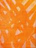 (detail) Fiona Elisala Mosby, Orange Flames of the Pandanus, Ink on 300gsm cotton rag paper, 57 x 76cm. Image Moa Arts