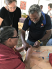 Philomena Yeatman at the Arts Arts Ablaze Regional Arts Conference, Image. Yarrabah Arts