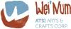 wei' num arts logo